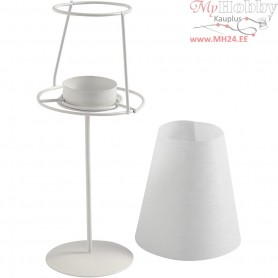 Tea Light Lamp, D: 7,5 cm, H: 22 cm, 1pc