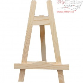 Mini Easel, H: 25 cm, pine, 1pc