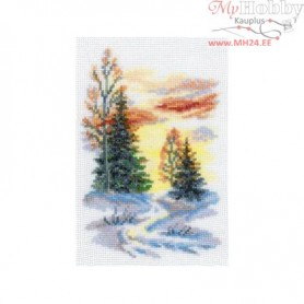 RTO Winter - Counted Cross Stitch Kit, Art: C085