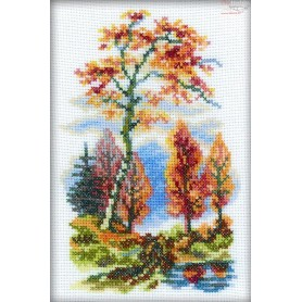 RTO Autumn - Counted Cross Stitch Kit, Art: C088