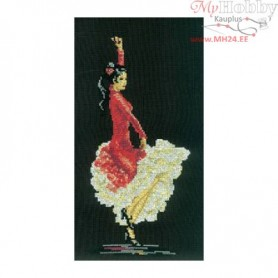 RTO Flamenco dancer - Counted Cross Stitch Kit, Art: C098