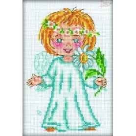 RTO Lucky Flower - Counted Cross Stitch Kit, Art: C127