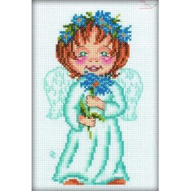 RTO Lucky Flower - Counted Cross Stitch Kit, Art: C129