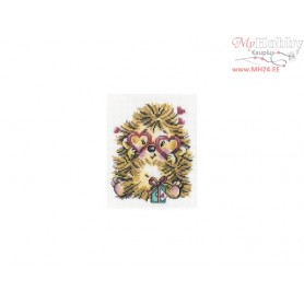 RTO Hedgehog in Love - Counted Cross Stitch Kit, Art: C152