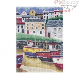 RTO Fisherman`s village - Counted Cross Stitch Kit, Art: C166