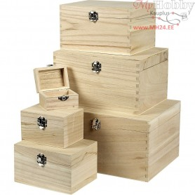 Box Set, empress wood, 6pcs
