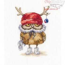 RTO Ready for the new year - Counted Cross Stitch Kit, Art: C230