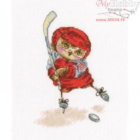 RTO Shoot the puck! - Counted Cross Stitch Kit, Art: C231