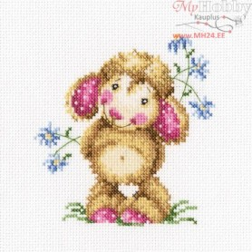 RTO Daisies for a gift - Counted Cross Stitch Kit, Art: C236