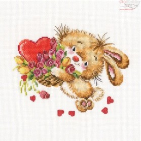 RTO Take my heartlet - Counted Cross Stitch Kit, Art: C222
