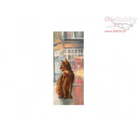 RTO Cats in town - Counted Cross Stitch Kit, Art: C245