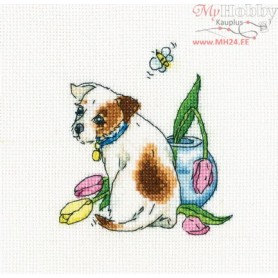 RTO After all, she flew away - Counted Cross Stitch Kit, Art: C299