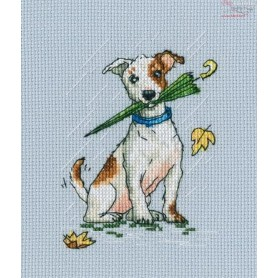 RTO Running on puddles - Counted Cross Stitch Kit, Art: C300