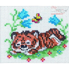 RTO Tiger is sleeping - Counted Cross Stitch Kit, Art: H141