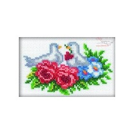 RTO Doves - Counted Cross Stitch Kit, Art: H118