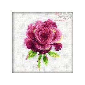 RTO Red Rose - Counted Cross Stitch Kit, Art: H168