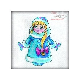 RTO Santa Claus helper - Counted Cross Stitch Kit, Art: H210
