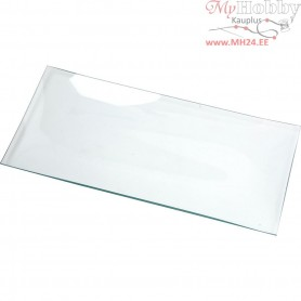 Glass Dish, oblong, size 27x13 cm, 12pcs