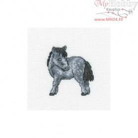 RTO Dappled horse - Counted Cross Stitch Kit, Art: H256