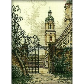 RTO The Gate in the Town - Counted Cross Stitch Kit, Art: R169