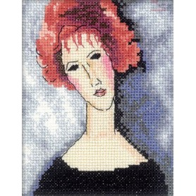 RTO Red-haired girl - Counted Cross Stitch Kit, Art: EH335