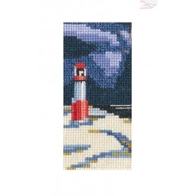 RTO Lighthouse - Counted Cross Stitch Kit, Art: EH359