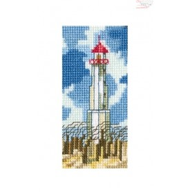RTO Lighthouse - Counted Cross Stitch Kit, Art: EH362