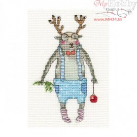 RTO Here I am! - Counted Cross Stitch Kit, Art: EH373