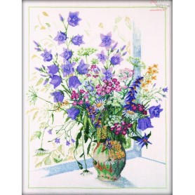 RTO Bouquet with Bluebell - Counted Cross Stitch Kit, Art: M052