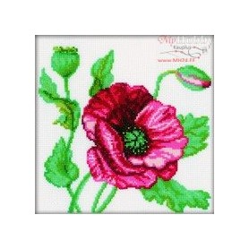 RTO Poppy - Counted Cross Stitch Kit, Art: M083