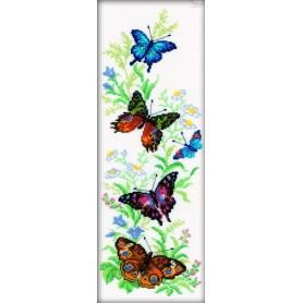 RTO Flying Butterflies - Counted Cross Stitch Kit, Art: M147