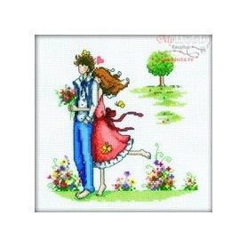 RTO For a Walk - Counted Cross Stitch Kit, Art: M164