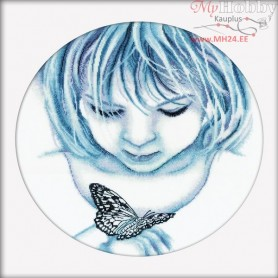RTO Butterfly Girl - Counted Cross Stitch Kit, Art: M176