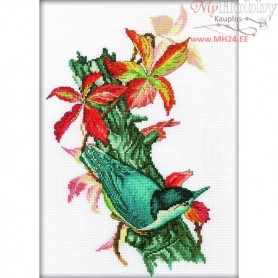 RTO Beautiful Nuthatch - Counted Cross Stitch Kit, Art: M226