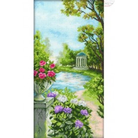 RTO Summerhouse by the Water - Counted Cross Stitch Kit, Art: M233