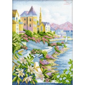 RTO City by the Sea - Counted Cross Stitch Kit, Art: M248