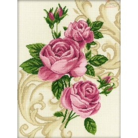 RTO Roses - Counted Cross Stitch Kit, Art: M257