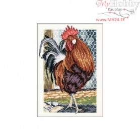 RTO Cock of the walk - Counted Cross Stitch Kit, Art: M350