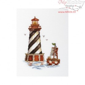 "RTO Lighthouse ""Seal bay"" - Counted Cross Stitch Kit, Art: M392"