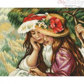RTO Drawing girls - Counted Cross Stitch Kit, Art: M410