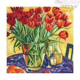 RTO Tulips on the table - Counted Cross Stitch Kit, Art: M376