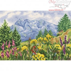 RTO Mountain meadow - Counted Cross Stitch Kit, Art: M302