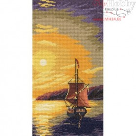 RTO Sailing ship - Counted Cross Stitch Kit, Art: M403