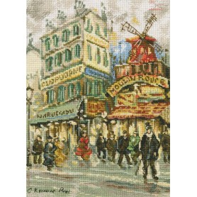 RTO Moulin Rouge - Counted Cross Stitch Kit, Art: M461