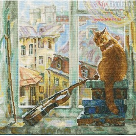 RTO Morning melody - Counted Cross Stitch Kit, Art: M468