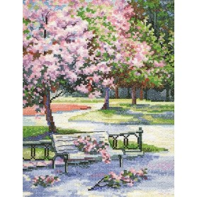 RTO Spring in the park - Counted Cross Stitch Kit, Art: M486