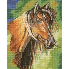 RTO Mustang - Counted Cross Stitch Kit, Art: M492