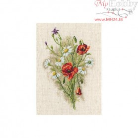 RTO Bouquet with daisies - Counted Cross Stitch Kit, Art: M526
