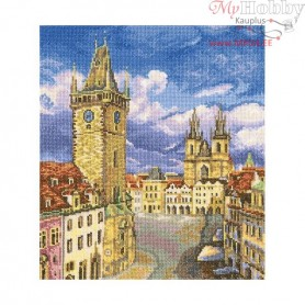 RTO Old town square - Counted Cross Stitch Kit, Art: M536