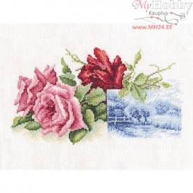 RTO Rose miniature - Counted Cross Stitch Kit, Art: M518